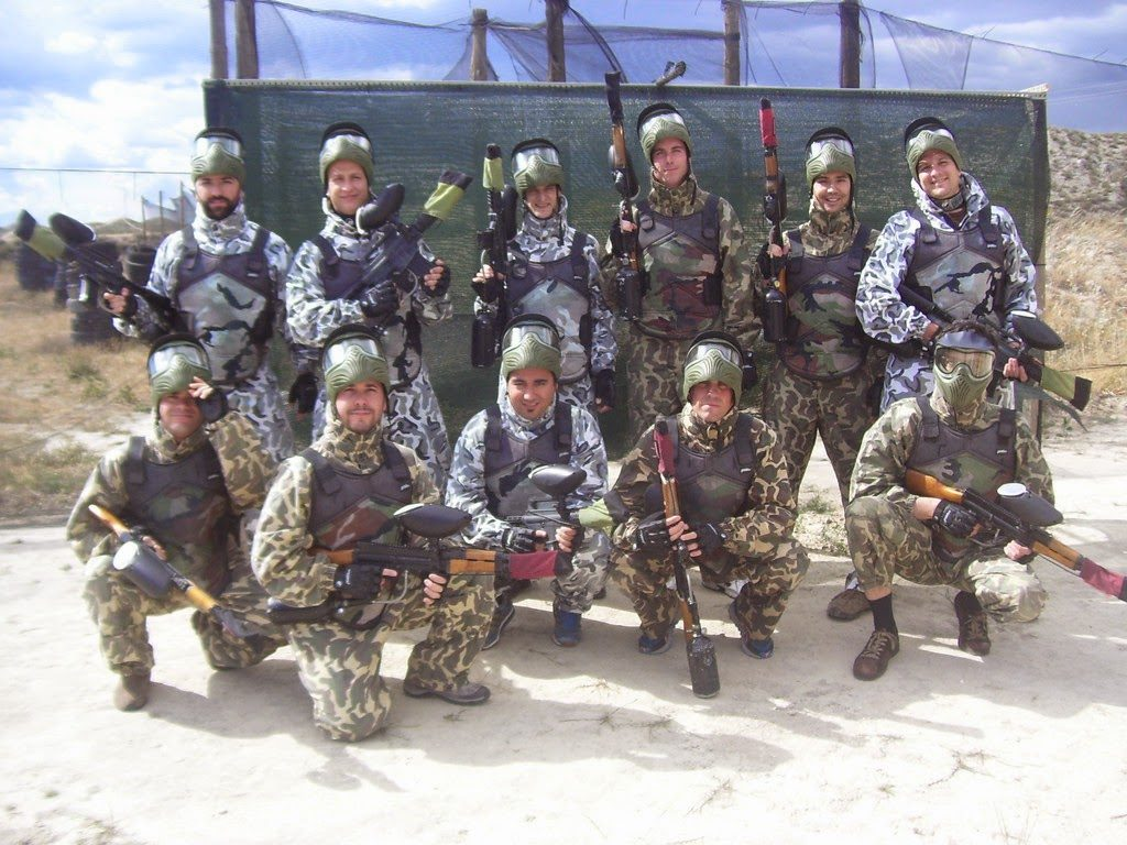 fotos  Maskepaintball Zaragoza, ofertas paintball Zaragoza, paintball Zaragoza, paintball y almuerzo Zaragoza,