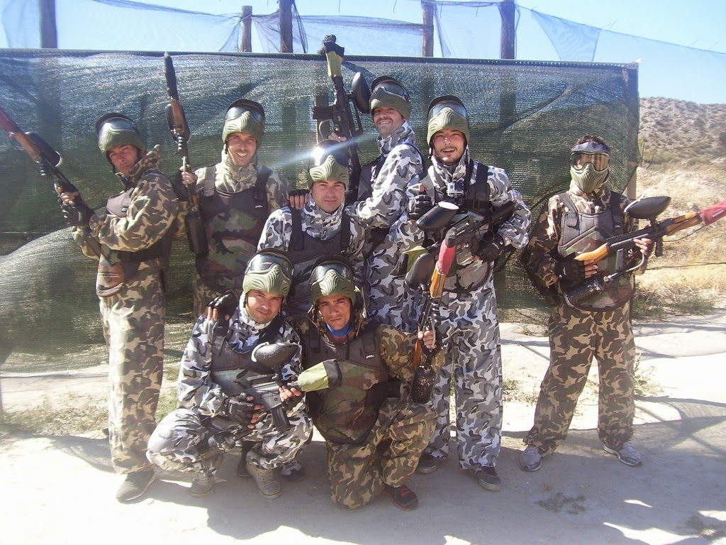 campos paintball Zaragoza, escenarios paintball Zaragoza, fotos  Maskepaintball Zaragoza, paintball y almuerzo Zaragoza, ofertas recargas paintball Zaragoza,