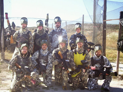 paintball, laser combat, paintball zaragoza