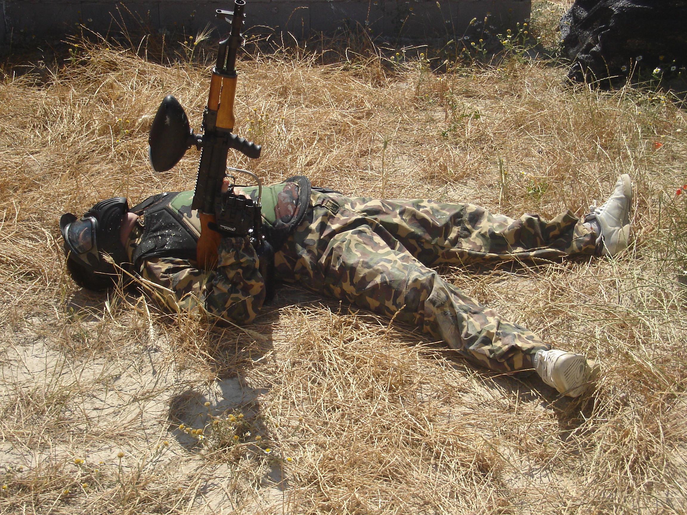 Muerto en combate