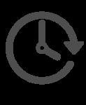 Icono duración gris